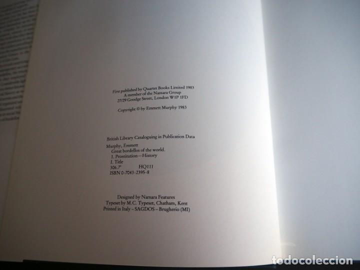 Libros de segunda mano: GREAT BORDELLOS OF THE WORLD. EMMETT MURPHY. QUARTET BOOKS. 1983. - Foto 3 - 146221998