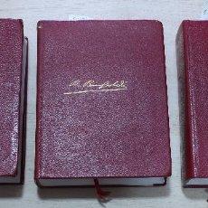 Libri di seconda mano: AGUILAR- COLECC. OBRAS ETERNAS - Nº 14-15-16 - EPISODIOS NACIONALES - BENITO PÉREZ GALDOS. Lote 146223466