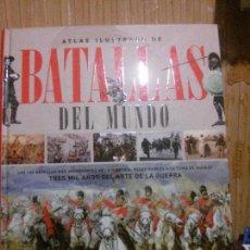 Libros de segunda mano: ATLAS ILUSTRADO DE BATALLAS DEL MUNDO, PAOLO CAU, ED. SUSETA. Lote 146273302