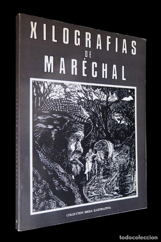 XILOGRAFÍAS DE MARECHAL. CLEMENTE CEBREIRO. ERISA ILUSTRATIVA. 1981. (Libros de Segunda Mano - Bellas artes, ocio y coleccionismo - Otros)