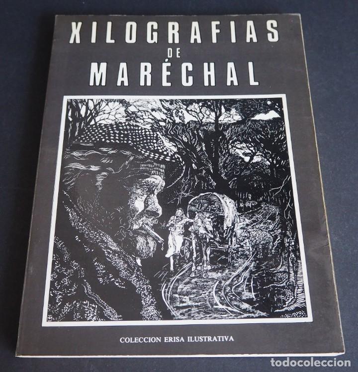 Libros de segunda mano: XILOGRAFÍAS DE MARECHAL. CLEMENTE CEBREIRO. ERISA ILUSTRATIVA. 1981. - Foto 2 - 146376590