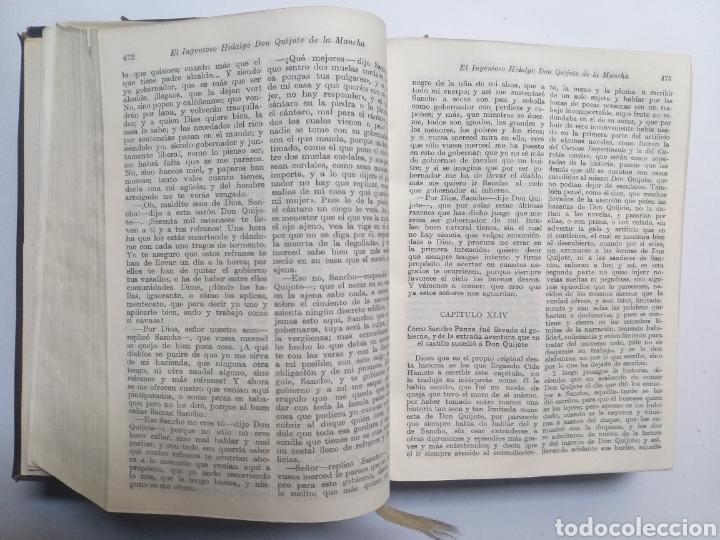 Libros de segunda mano: Obras completas . Cervantes obras completas Aguilar - Foto 21 - 146398329