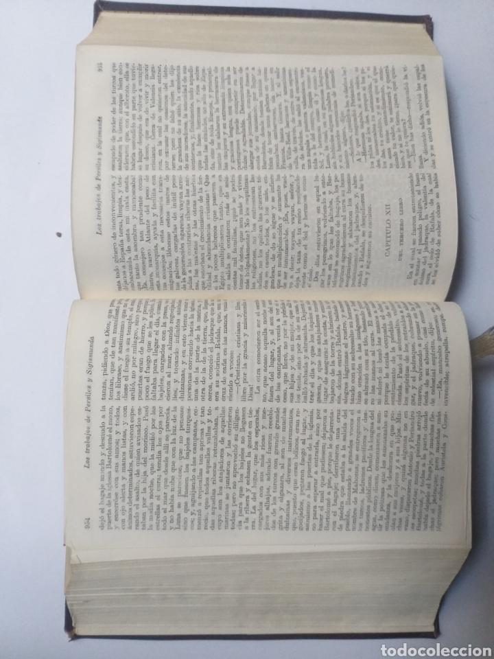 Libros de segunda mano: Obras completas . Cervantes obras completas Aguilar - Foto 22 - 146398329