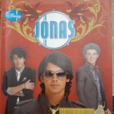 Libros de segunda mano: LIBRO JONAS CORAZONES SALVAJES. Lote 146442513