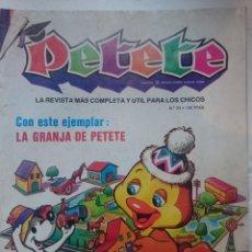 Libros de segunda mano: PETETE - N 23 - LA GRANJA DE PETETE. Lote 146455754