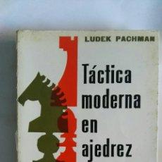 Libros de segunda mano: TÁCTICA MODERNA EN AJEDREZ TOMO I. Lote 146456692