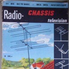 Libros de segunda mano: ANTIGUO LIBRO O REVISTA RADIO CHASIS TELEVISIÓN SOBRE REPARACIÓN Y ESQUEMAS LOTE Nº2. Lote 146456766