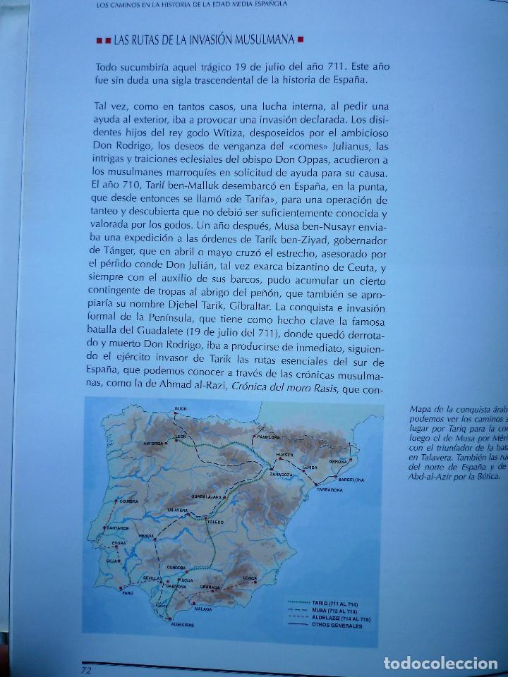 Libros de segunda mano: VIAJE POR LA HISTORIA DE NUESTROS CAMINOS - Foto 6 - 146496810