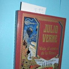 Libros de segunda mano: VIAJE AL CENTRO DE LA TIERRA. VERNE, JULIO. COL. EDICIÓN ESPECIAL CENTENARIO. ED. RBA. NAVARRA 2004. Lote 146502594