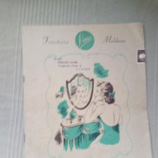 Libros de segunda mano: CATALOGO FERRETERIA FINA 1953 MOLDURAS SUMINISTROS MADERA DECORACION. Lote 146504314