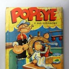Libros de segunda mano: POPEYE Y SUS ESPINACAS. EDITORIAL MOLINO 1955. TAPAS DURAS. Lote 146551510