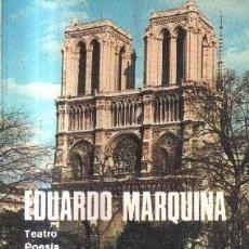 Libros de segunda mano: EDUARDO MARQUINA OBRAS COMPLETAS. TOMO VIII.. Lote 146569966
