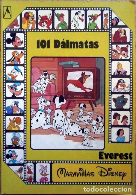 101 DALMATAS MARAVILLAS DISNEY EVEREST 1987 (Libros de Segunda Mano - Literatura Infantil y Juvenil - Otros)