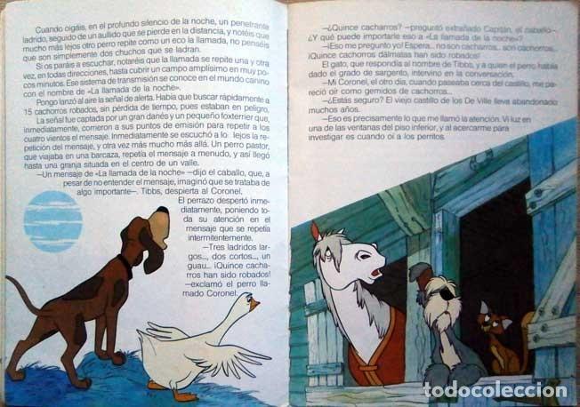 Libros de segunda mano: 101 dalmatas maravillas disney everest 1987 - Foto 3 - 146587734