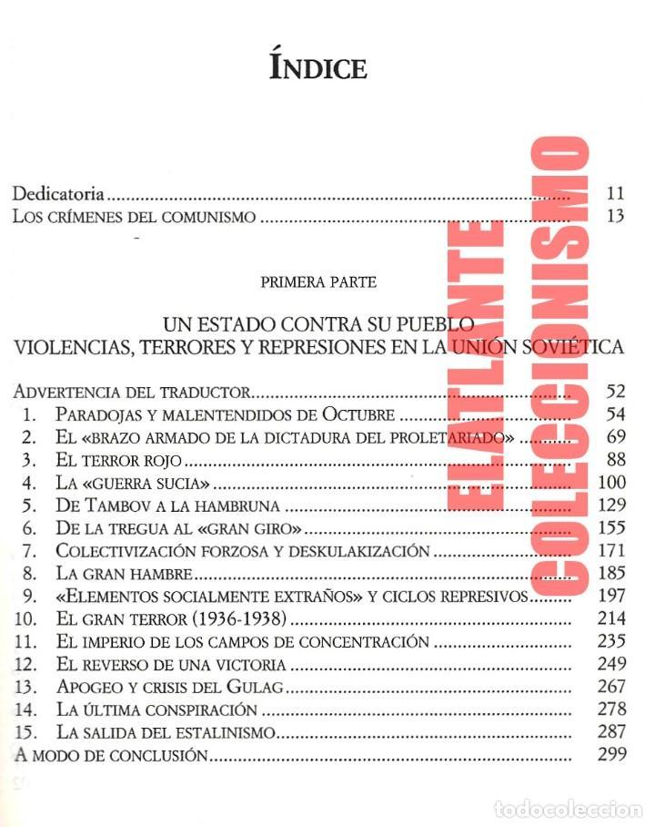 Libros de segunda mano: EL LIBRO NEGRO DEL COMUNISMO - CRÍMENES, TERROR Y REPRESIÓN - COURTOIS - URSS CHINA ESPAÑA CAMBOYA - Foto 5 - 146598858