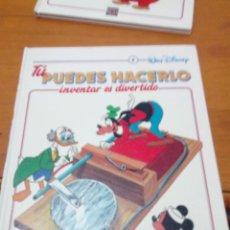 Libros de segunda mano: TU PUEDES HACERLO. INVENTAR ES DIVERTIDO . 6. WALT DISNEY. EST2B5. Lote 146636322
