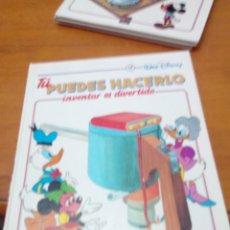 Libros de segunda mano: TU PUEDES HACERLO. INVENTAR ES DIVERTIDO. 12. WALT DISNEY. EST2B5. Lote 146637454