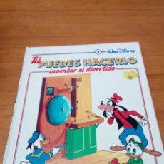 Libros de segunda mano: TÚ PUEDES HACERLO. INVENTAR ES DIVERTIDO. 8. WALT DISNEY. EST2B5. Lote 146638174