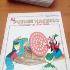 Libros de segunda mano: TÚ PUEDES HACERLO. INVENTAR ES DIVERTIDO. 4. WALT DISNEY. EST2B5. Lote 146638834