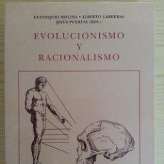 Libros de segunda mano: EVOLUCIONISMO Y RACIONALISMO (ESTUDIOS VV.AA.) - IFC/UNIVERSIDAD ZARAGOZA, 1998 - RARO. Lote 146679298