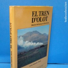 Libros de segunda mano: EL TREN D'OLOT: HISTORIA DEL FERROCARRIL OLOT-GIRONA (ELS TRENS DE CATALUNYA) SALMERON I BOSCH, CARL. Lote 146722082