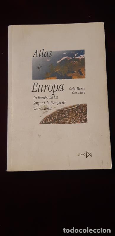 ATLAS DE EUROPA - GELU MARÍN GONZÁLEZ - AKAL 2000 (Libros de Segunda Mano - Historia - Otros)