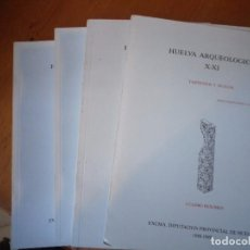 Libros de segunda mano: HUELVA ARQUEOLÓGICA X-TARTESIOS Y HUELVA JESUS FERNANDEZ JURADO HUELVA 1988-1989 . Lote 146866838