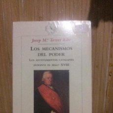 Libros de segunda mano: LOS MECANISMO DEL PODER, JOSEP M. TORRES RIBÉ, ED. CRÍTICA. Lote 146872598