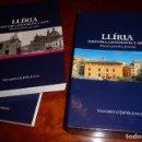 Libros de segunda mano: LLIRIA ,LIRIA , EDETA .- HISTORIA,GEOGRAFIA Y ARTE, 2011, 2 VOL. ESTUCHE,390+454PP, VV.AA.. Lote 146884030