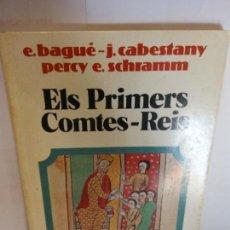 Libros de segunda mano: STQ.VARIOS.ELS PRIMERS COMTES-REIS.EDT, VICENS-VIVES ... Lote 146891634