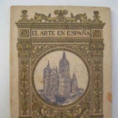 Libros de segunda mano: EL ARTE EN ESPAÑA - Nº 15 - CATEDRAL DE LEÓN - HIJOS DE J. THOMAS.. Lote 146897310