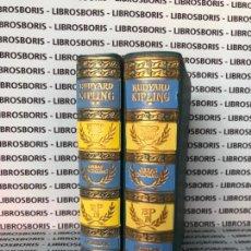 Libros de segunda mano: RUDYARD KIPLING - OBRAS ESCOGIDAS - 2 TOMOS - AGUILAR.. Lote 146928242