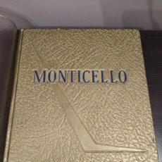 Libros de segunda mano: ANNUAL BOOK MONTICELLO 1961 JEFFERSON HIGH SCHOLL TAMPA FLORIDA. Lote 146984442
