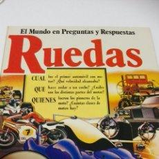 Libros de segunda mano: C62 EDICIONES PLESA EL MUNDO EN PREGUNTAS Y RESPUESTAS RUEDAS. Lote 147074194