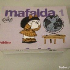 Libros de segunda mano: LOTE DE MAFALDA DEL 1 AL 14. Lote 147102744