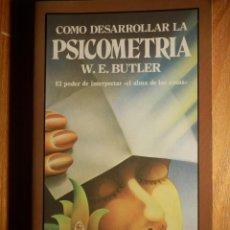 Libros de segunda mano: LIBRO - COMO DESARROLLAR LA PSICOMETRÍA - W.E. BUTLER - . Lote 147130038