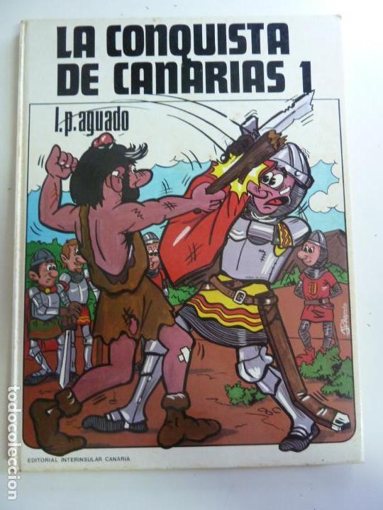 LA CONQUISTA DE CANARIAS TOMO 1 AGUADO (Libros de Segunda Mano - Literatura Infantil y Juvenil - Otros)