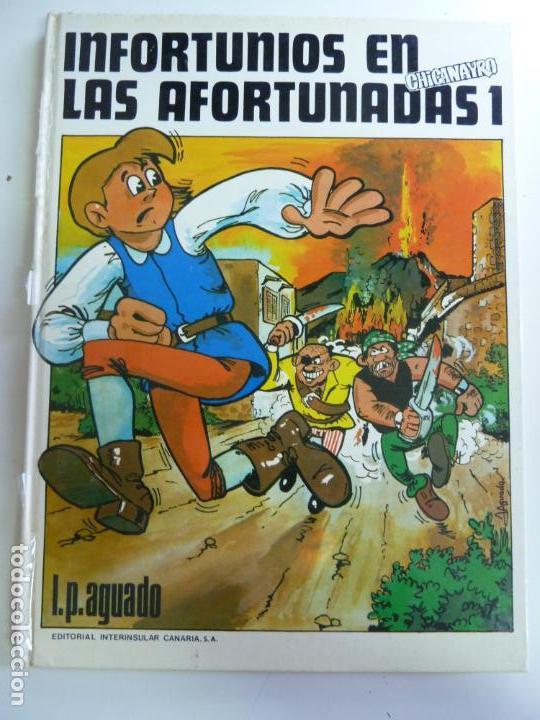 INFORTUNIOS EN LAS AFORTUNADAS TOMO 1 AGUADO CHICANAYRO (Libros de Segunda Mano - Literatura Infantil y Juvenil - Otros)