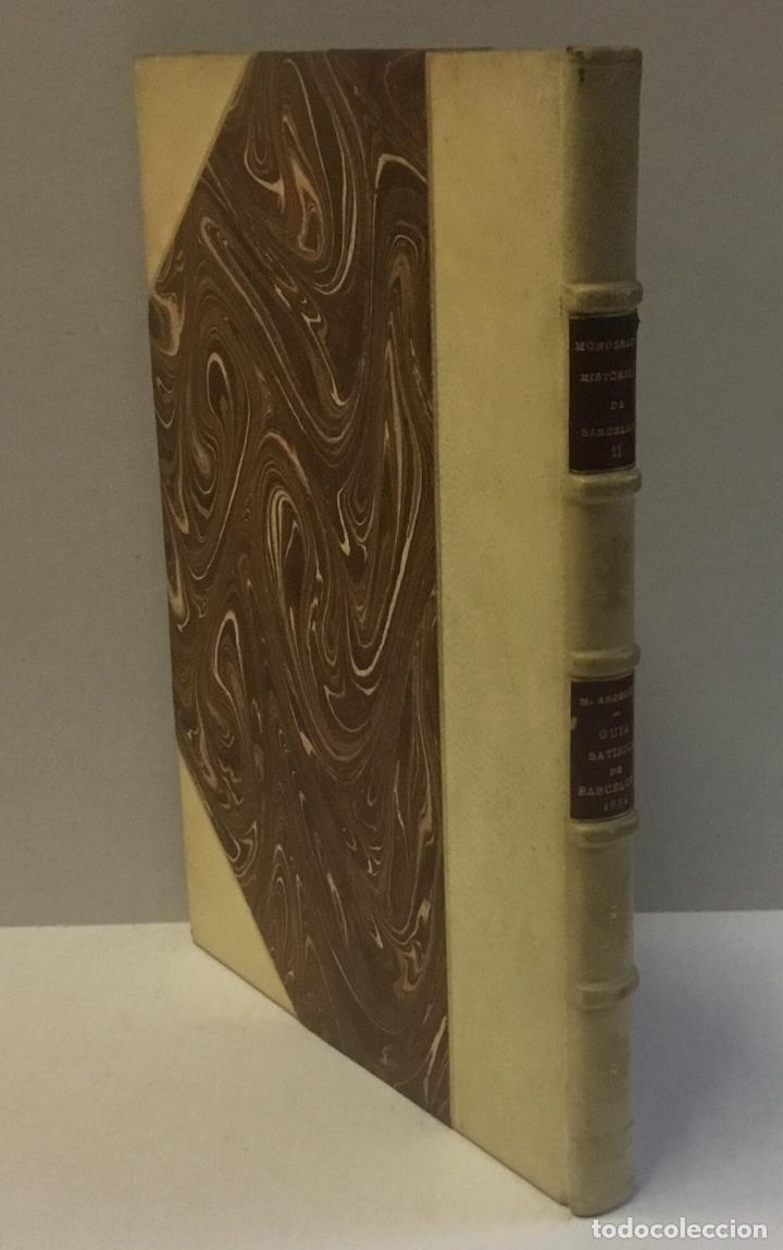 GUIA SATÍRICA DE BARCELONA (1854). - ANGELÓN, MANUEL. 100 EJEMPLARES EN PAPEL DE HILO. BRUGALLA. (Libros de Segunda Mano - Historia - Otros)