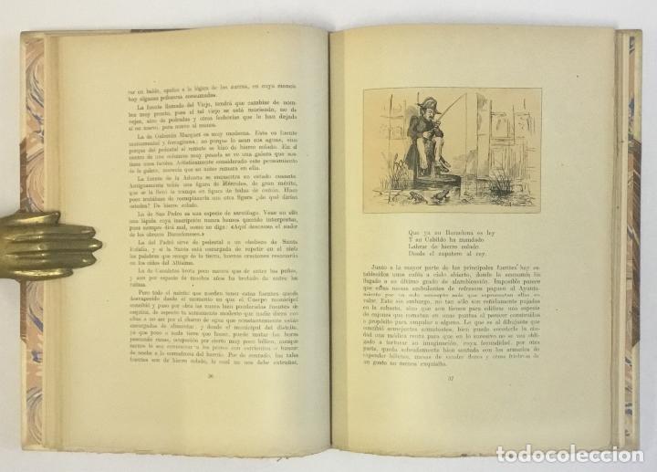 Libros de segunda mano: GUIA SATÍRICA DE BARCELONA (1854). - ANGELÓN, MANUEL. 100 EJEMPLARES EN PAPEL DE HILO. BRUGALLA. - Foto 4 - 147202142
