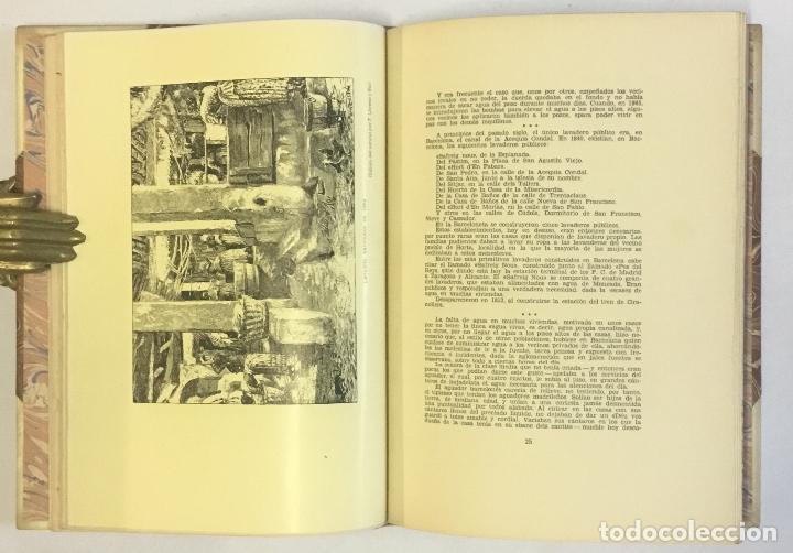 Libros de segunda mano: HISTORIA Y LEYENDA DE LAS FUENTES URBANAS Y CAMPESTRES DE BARCELONA. RIUTORT, J. M. - Foto 4 - 147204114