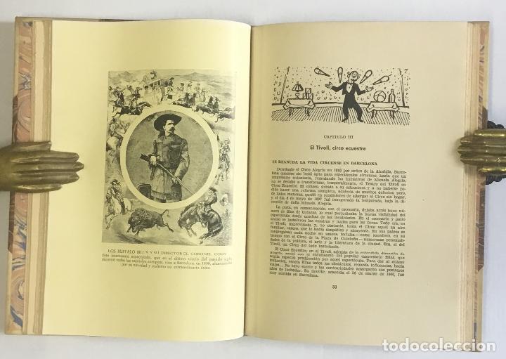Libros de segunda mano: EL CIRCO EN LA VIDA BARCELONESA. CRÓNICA ANECDÓTICA DE CIEN AÑOS CIRSENSES. DALMAU, ANTONIO R. - Foto 4 - 147204878