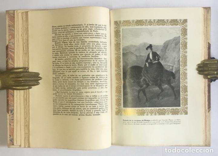 Libros de segunda mano: TRES MAESTROS DEL LÁPIZ DE LA BARCELONA OCHOCENTISTA. PADRÓ, PLANAS, PELLICER... BORI, SALVADOR. - Foto 4 - 147205550