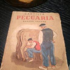 Libros de segunda mano: CARTILLA PECUARIA. GANADO VACUNO. Lote 147219662