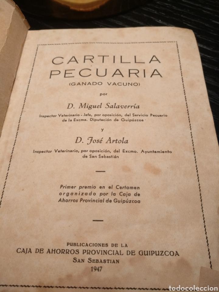 Libros de segunda mano: Cartilla pecuaria. Ganado vacuno - Foto 2 - 147219662