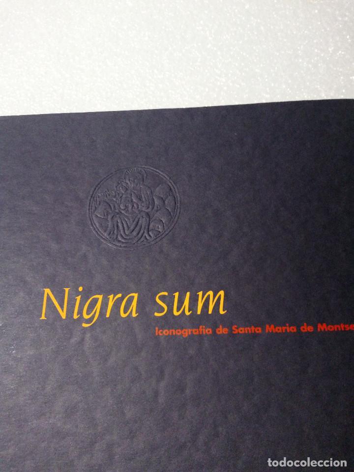 Libros de segunda mano: NIGRA SUM ICONOGRAFÍA DE SANTA MARÍA DE MONTSERRAT - P.A.M. 1995 . 1ª EDICIÓ SIN USO - Foto 5 - 147227470