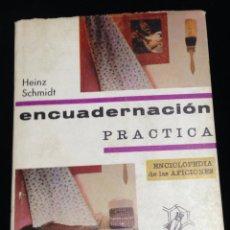 Libros de segunda mano: ENCUADERNACION-PRACTICA,EDICIONES SANTILLANA,AÑO 1969.. Lote 147243160