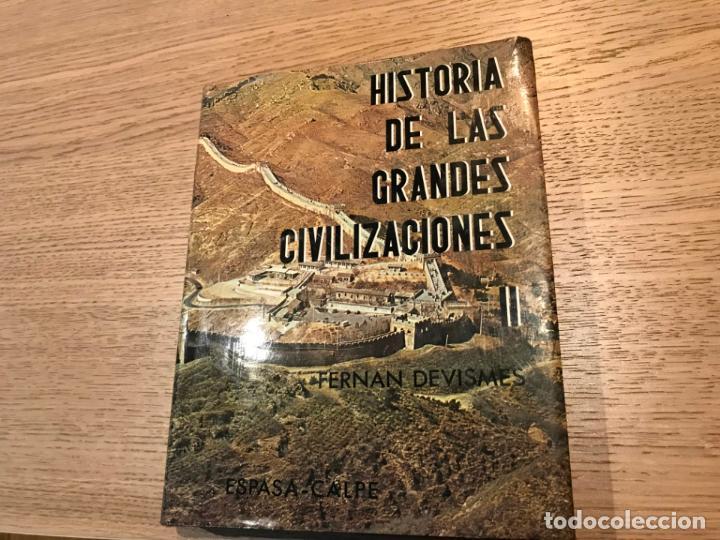 HISTORIA DE LAS GRANDES CIVILIZACIONES. TOMO II (Libros de Segunda Mano - Historia - Otros)