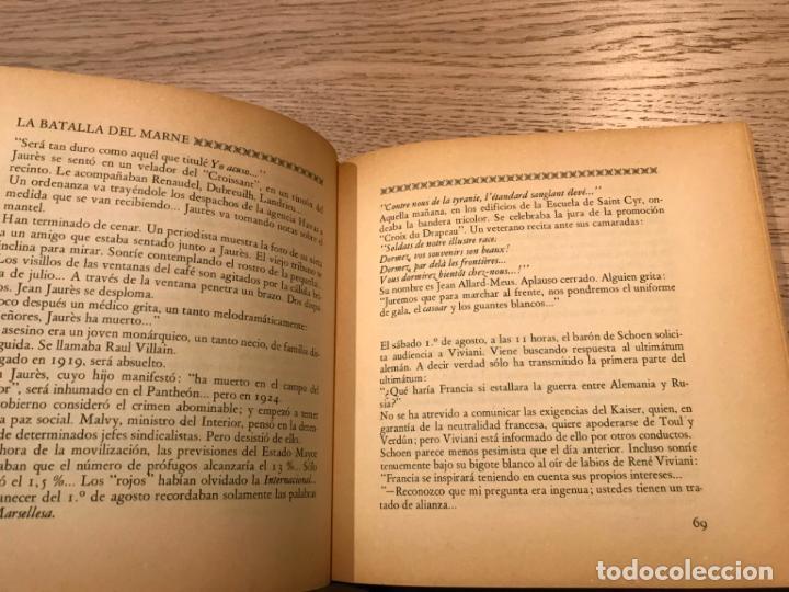 Libros de segunda mano: LA BATALLA DEL MARNE - LA GRAN GUERRA. ESCRITA BAJO LA DIRECCION DE P. WEDELMAN - Foto 2 - 147314374