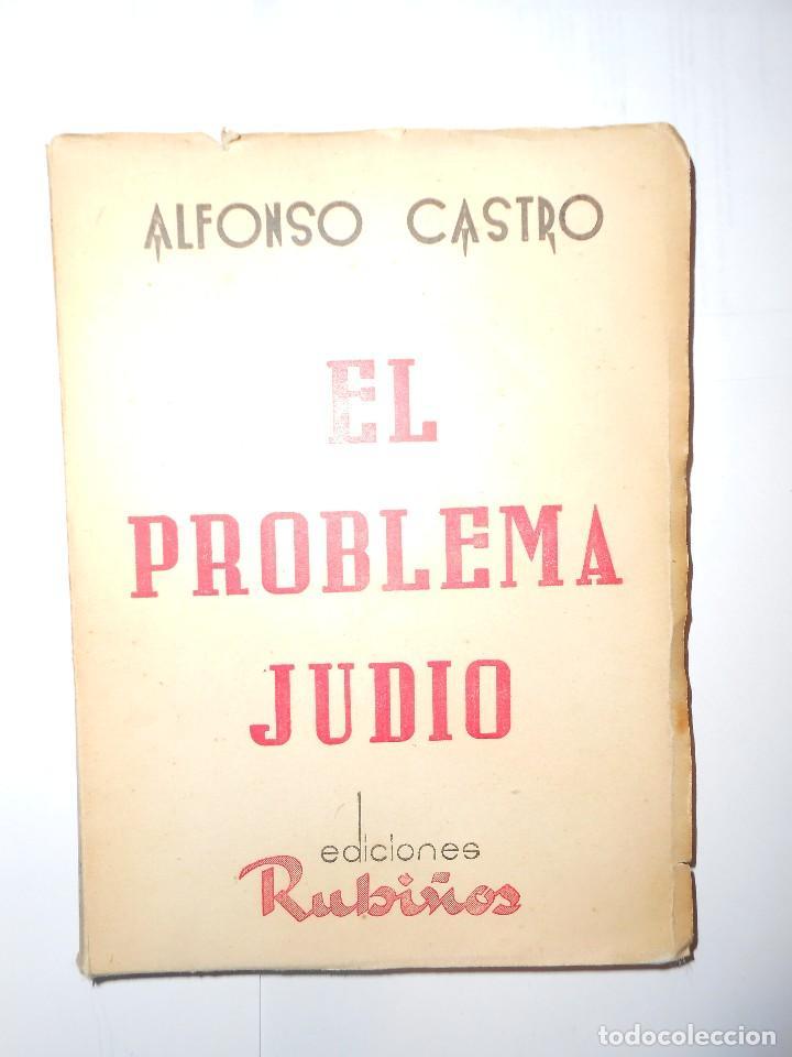 Resultado de imagen de CASTRO, Alfonso, El problema judío.